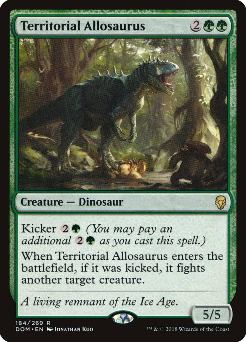 Territorial Allosaurus mtg