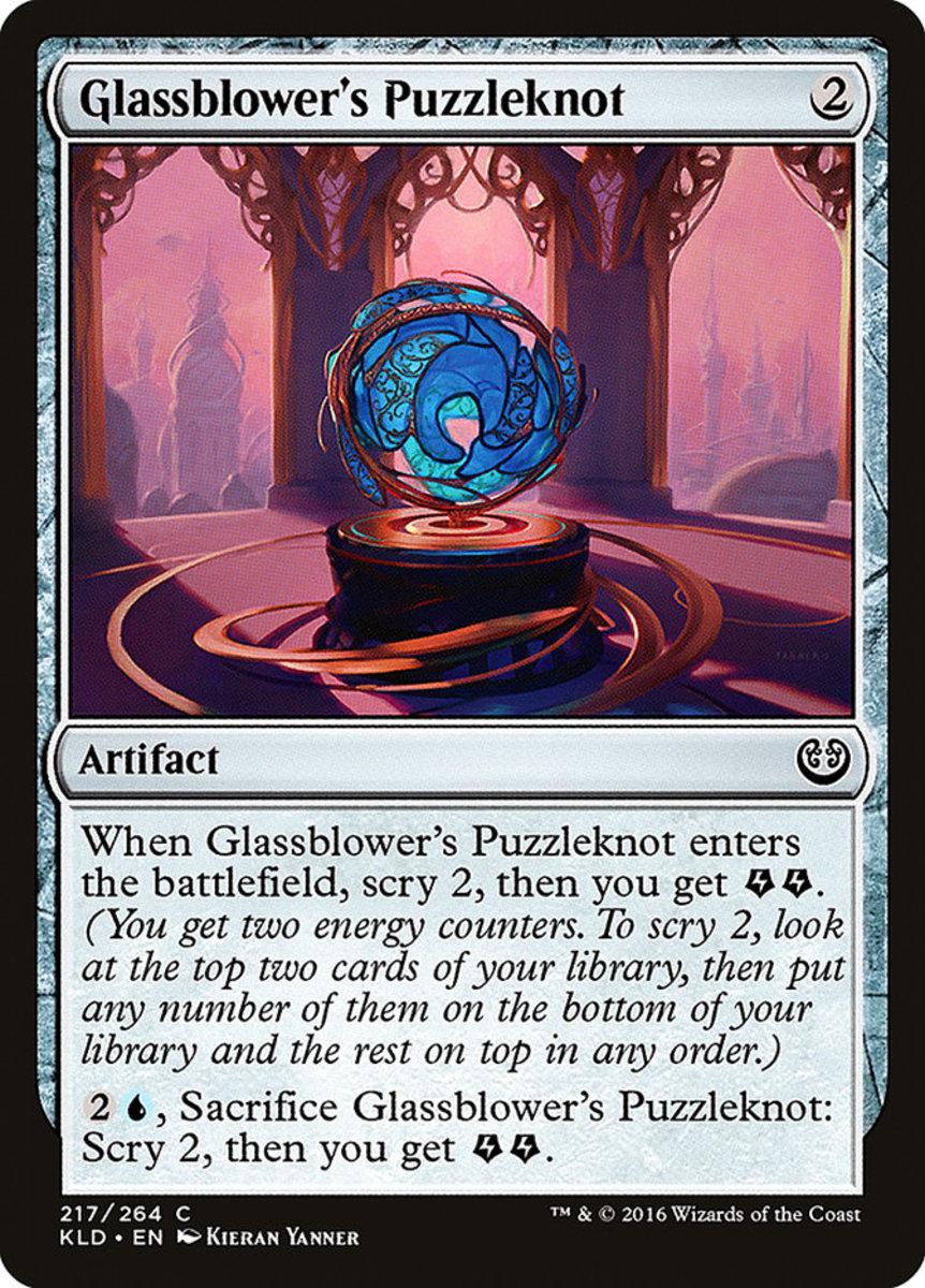 Glassblower's Puzzleknot