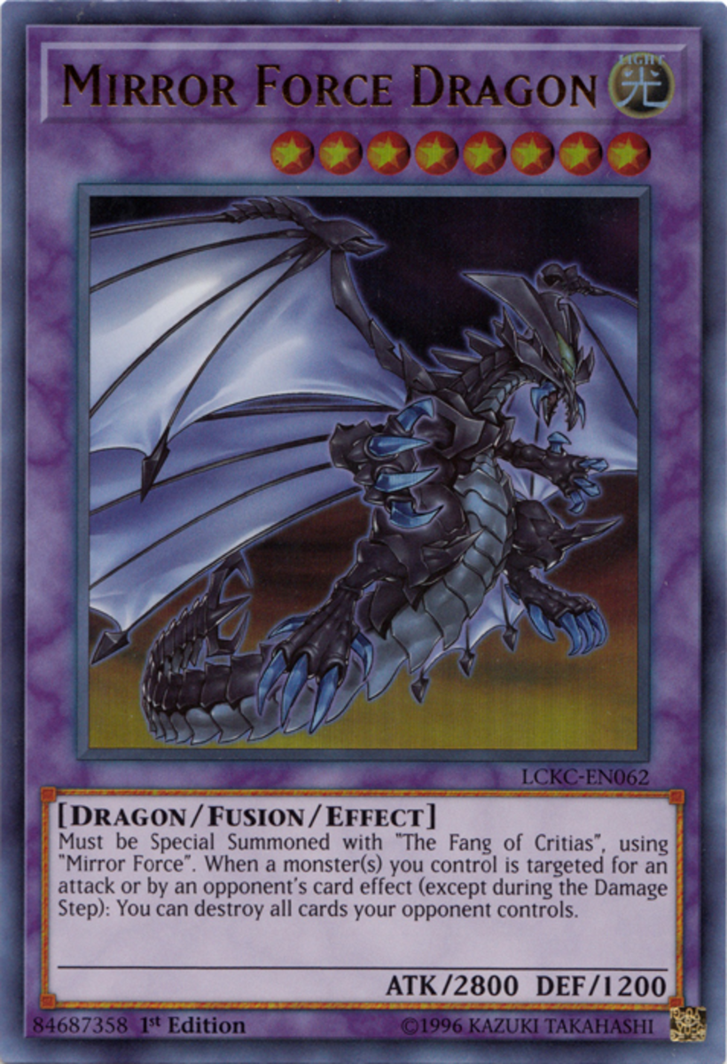 Mirror Force Dragon