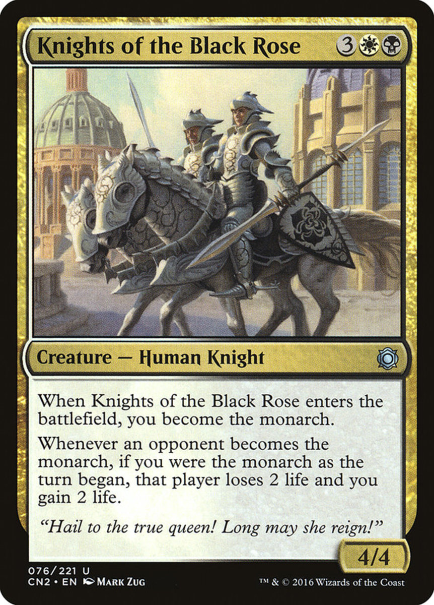 Knights of the Black Rose mtg