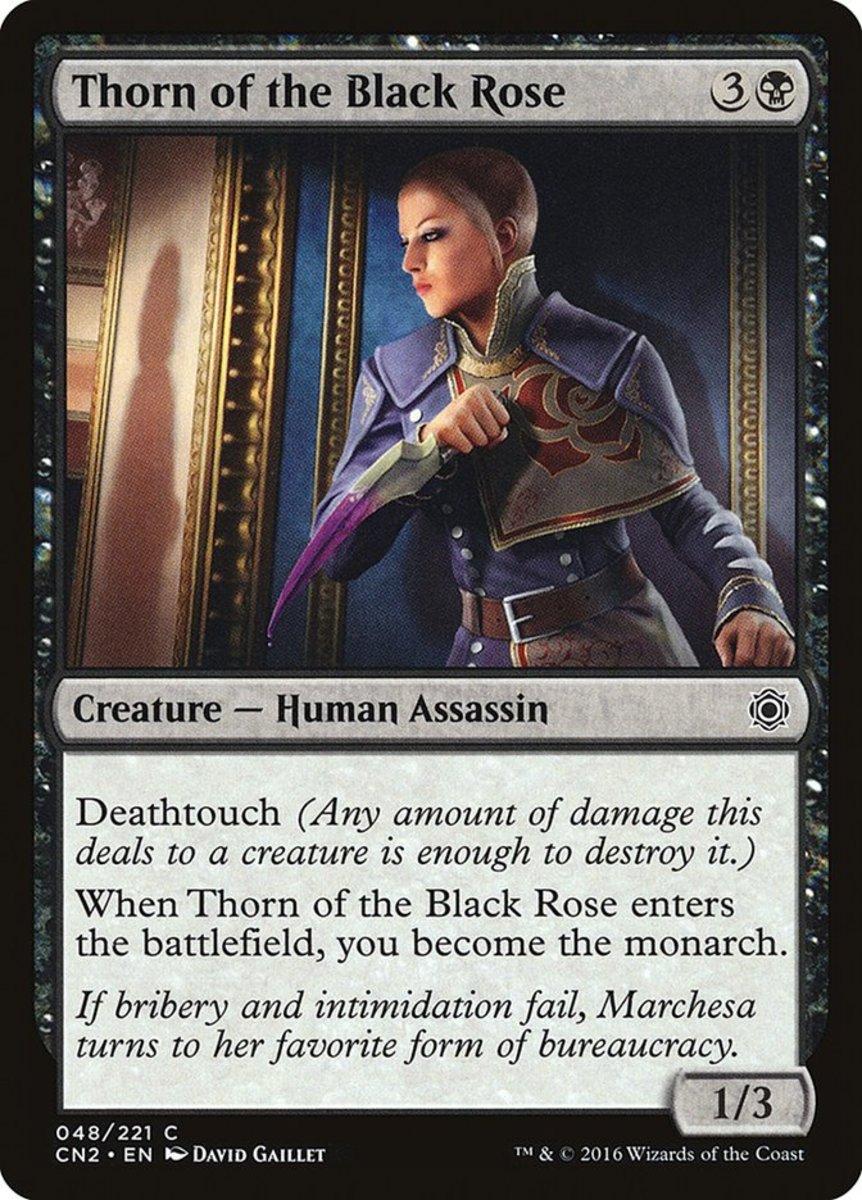 Thorn of the Black Rose mtg
