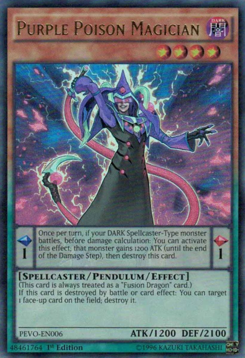 Purple Poison Magician
