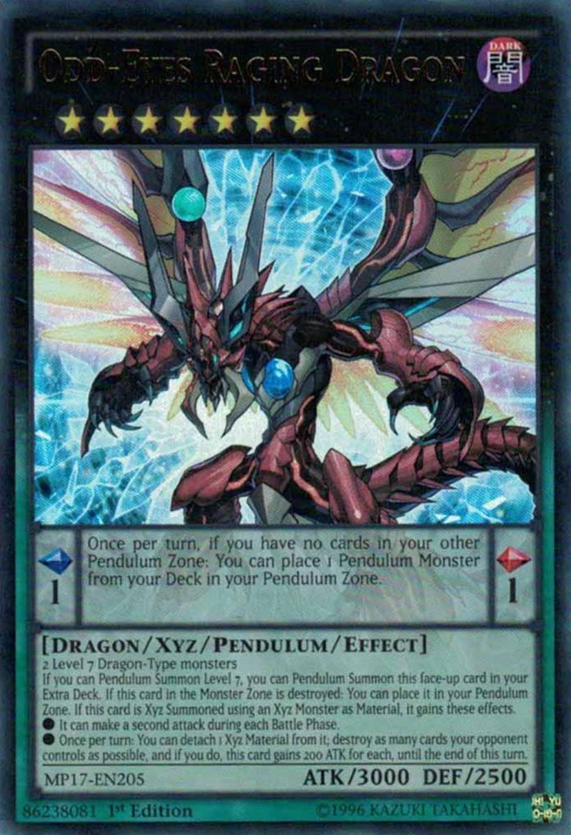 Odd-Eyes Raging Dragon
