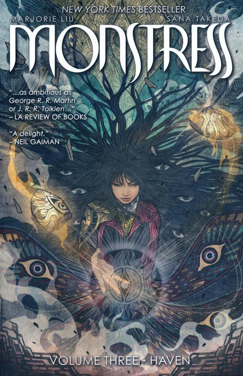 Monstress: Volume 3 (Forbidden Planet Exclusive - Signed Mini Print Edition).  Art by Takeda.