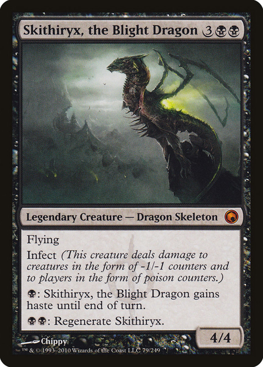 Skithiryx, the Blight Dragon mtg
