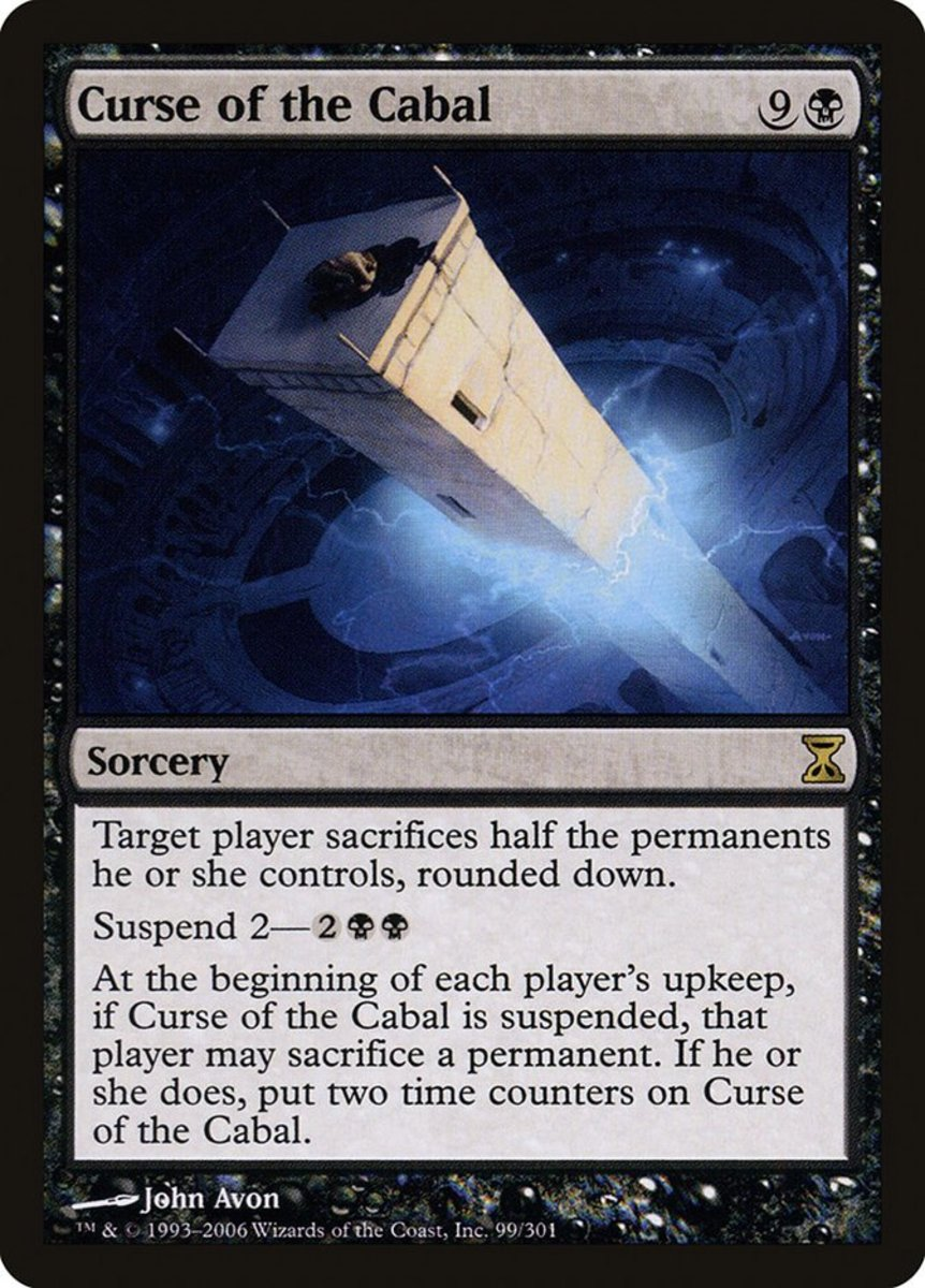 Curse of the Cabal