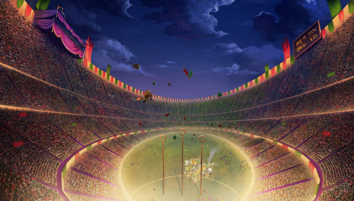 Quidditch isn't very subtle