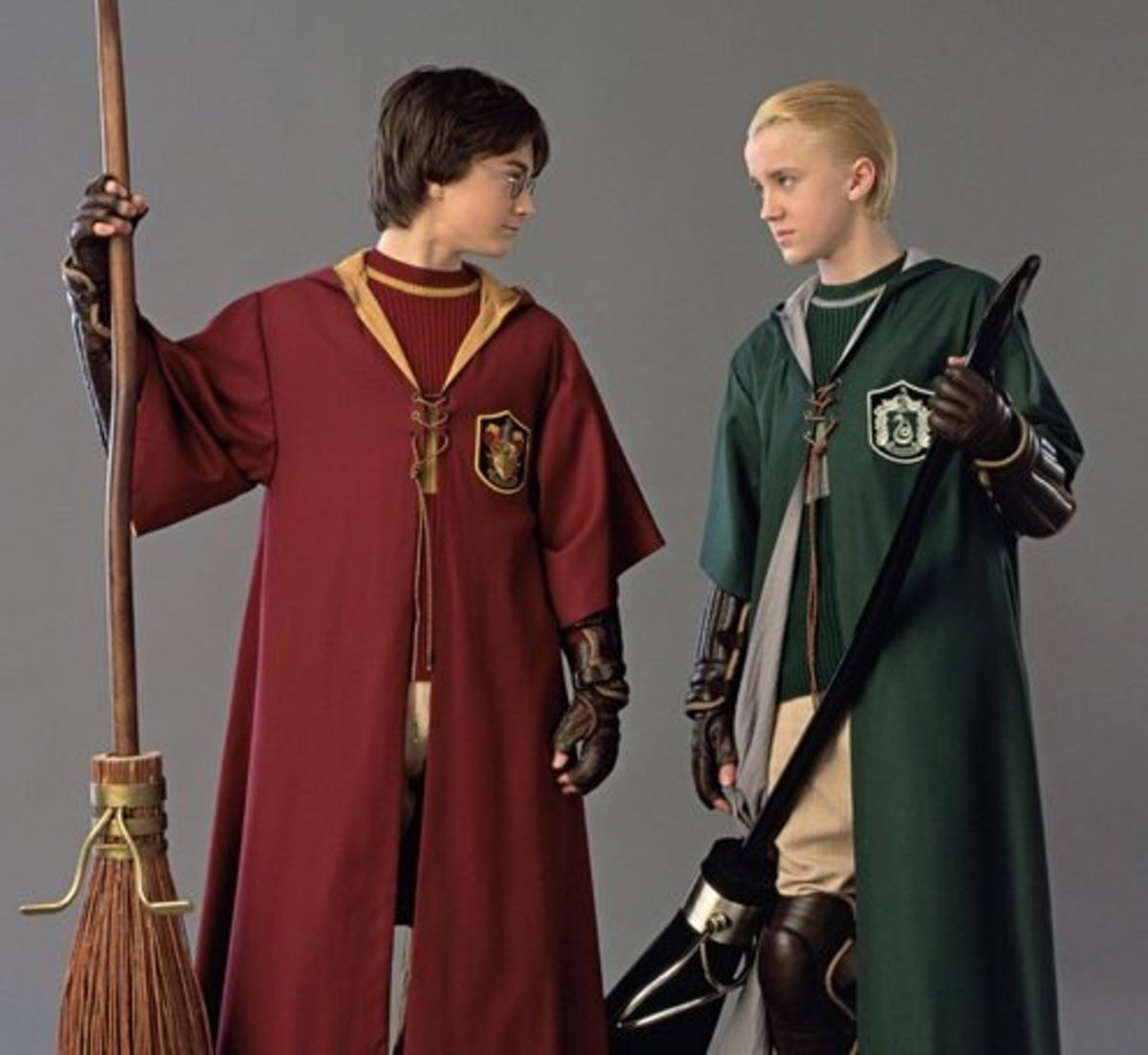 "Harry and Draco in ""Skill vs Wealth"""
