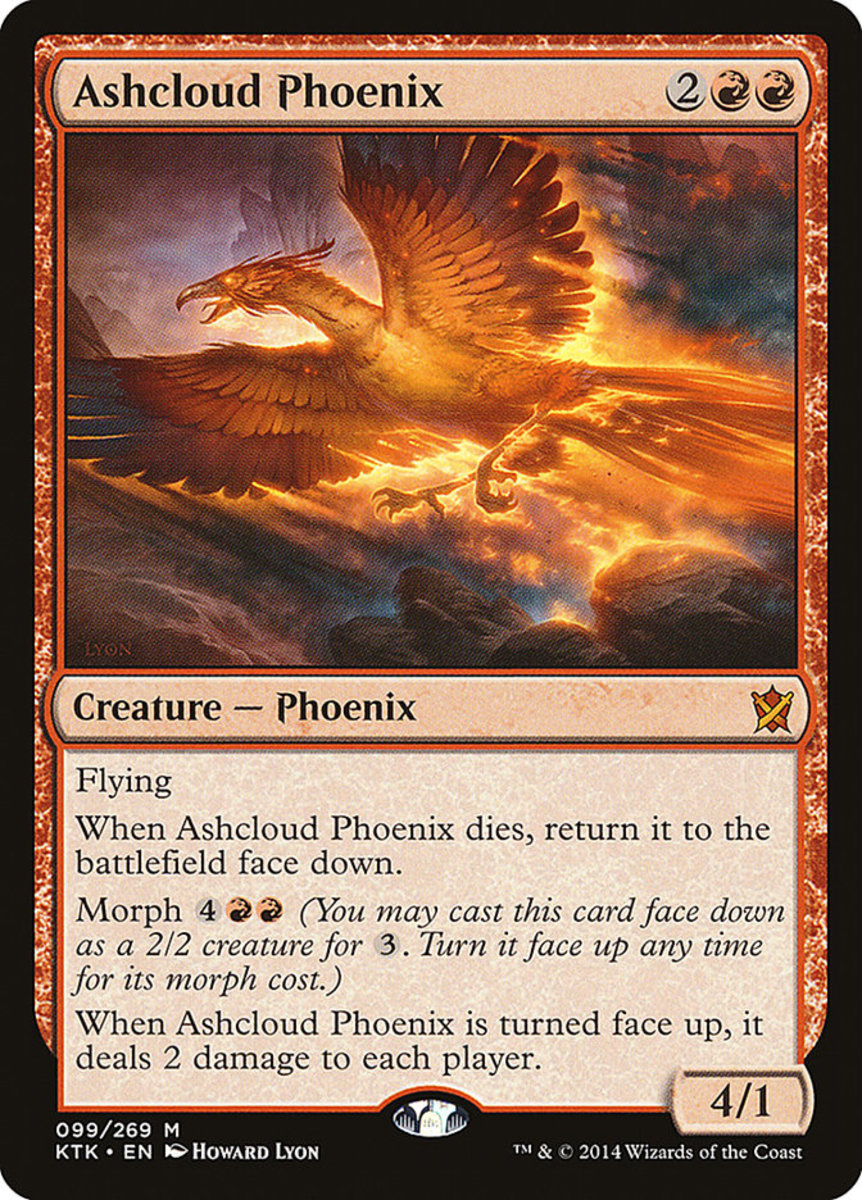 Mtg Rekindling Phoenix Very Good Condition Card