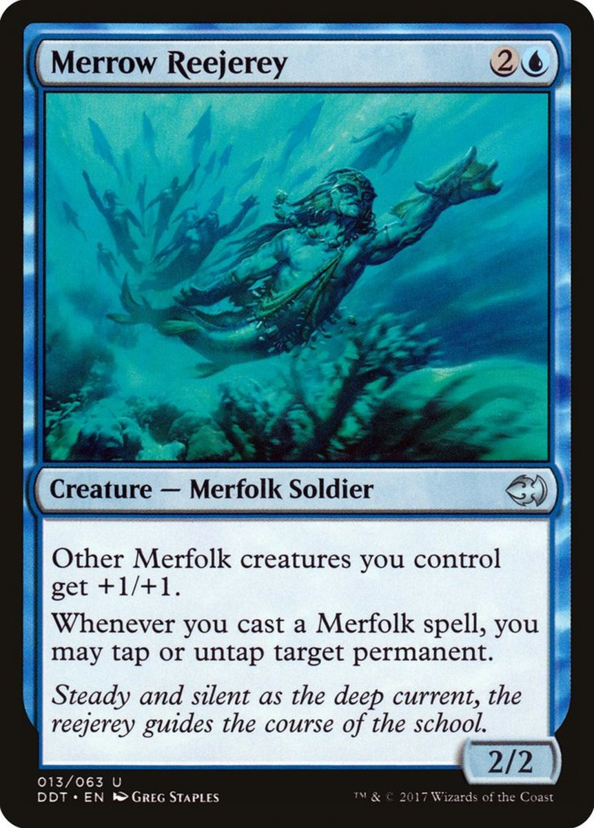 Top 10 Merfolk Cards in Magic: The Gathering