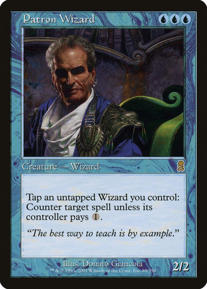 Patron Wizard mtg