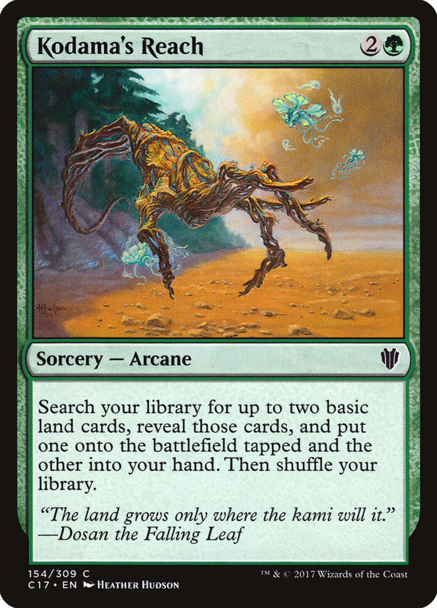 Top 10 Green Land Ramps In Magic The Gathering Hobbylark