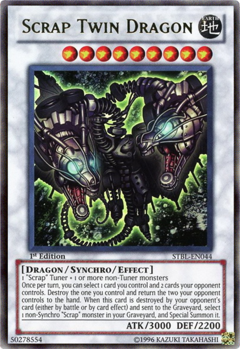 Scrap Twin Dragon