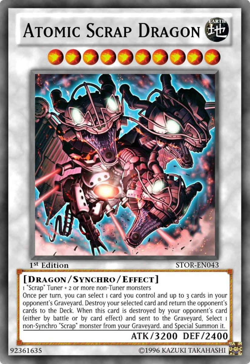Top 10 Scrap Cards in Yu-Gi-Oh