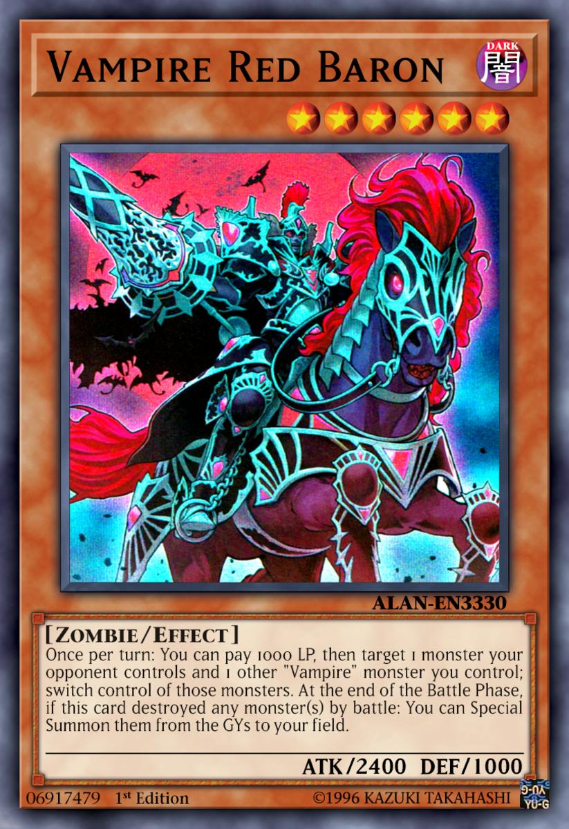 Vampire Red Baron