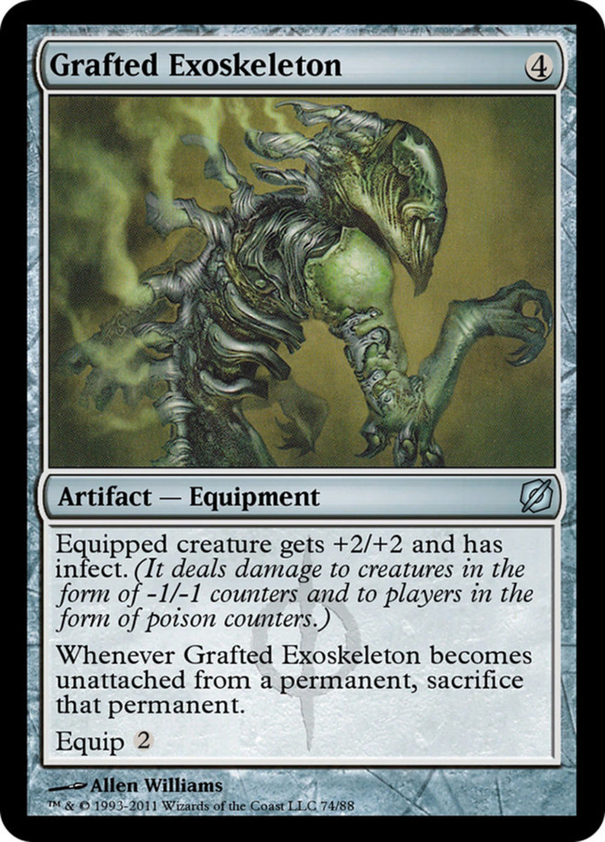 Grafted Exoskeleton