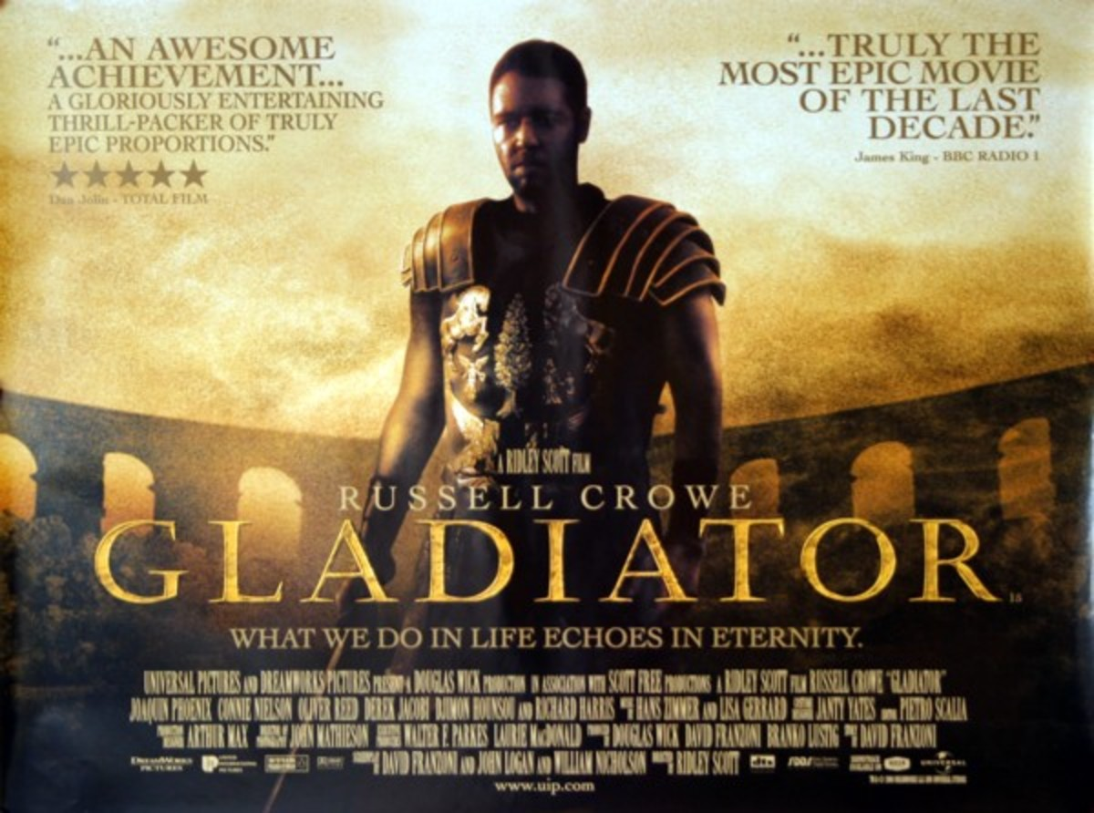 "In 2000, ""Gladiator"" won five Oscars including Best Picture."