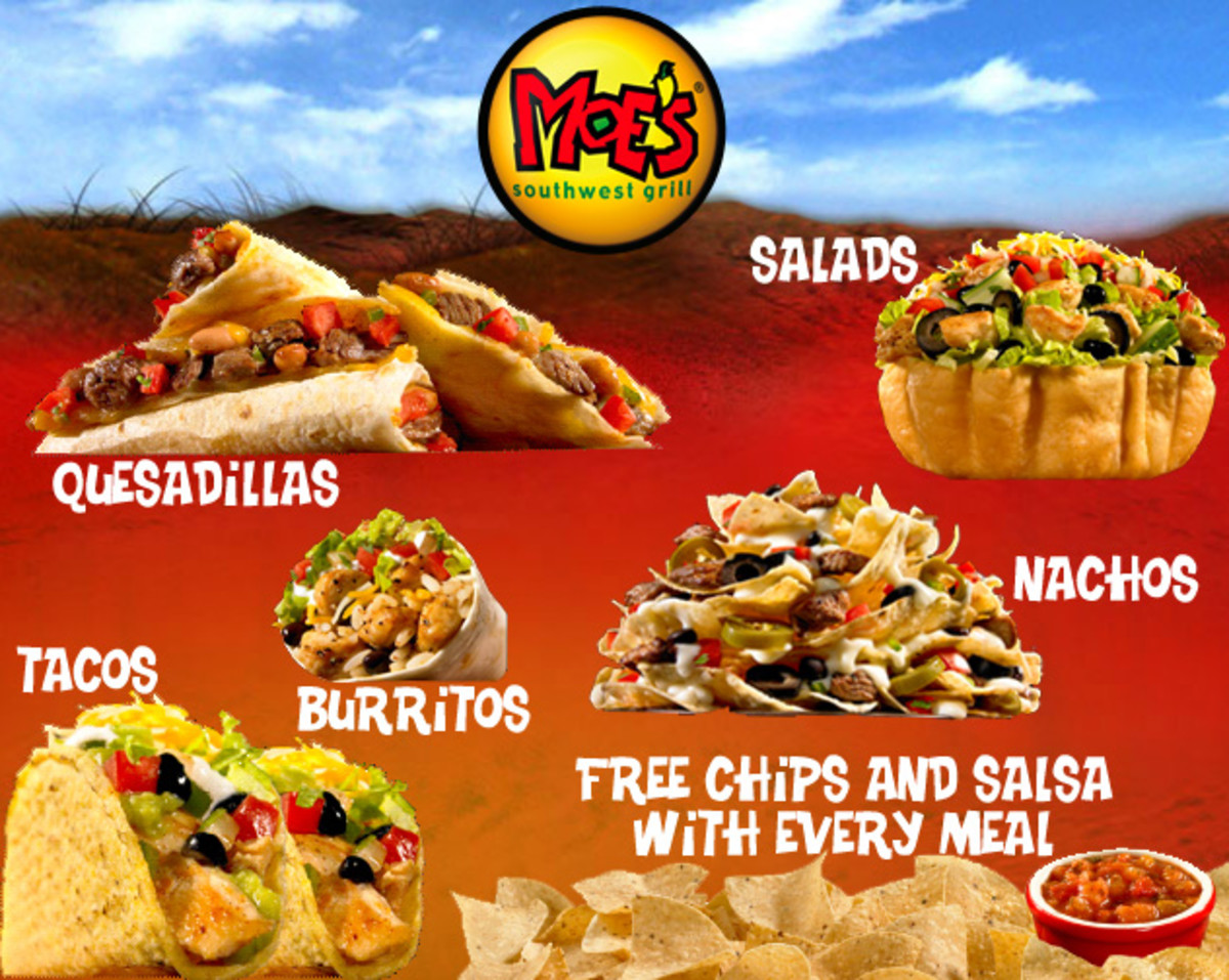 In 2000, Moe's Southwest Grill was founded.