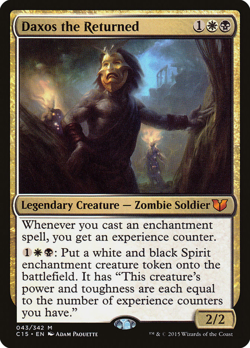 Top 5 Experience Counter Cards in Magic: The Gathering