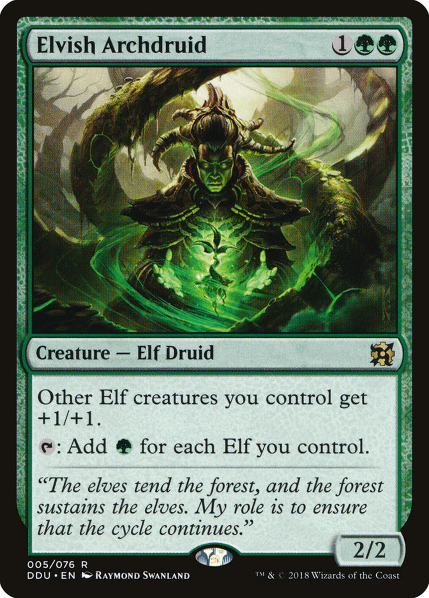 Top 10 Nonlegendary Elf Cards In Magic The Gathering Hobbylark