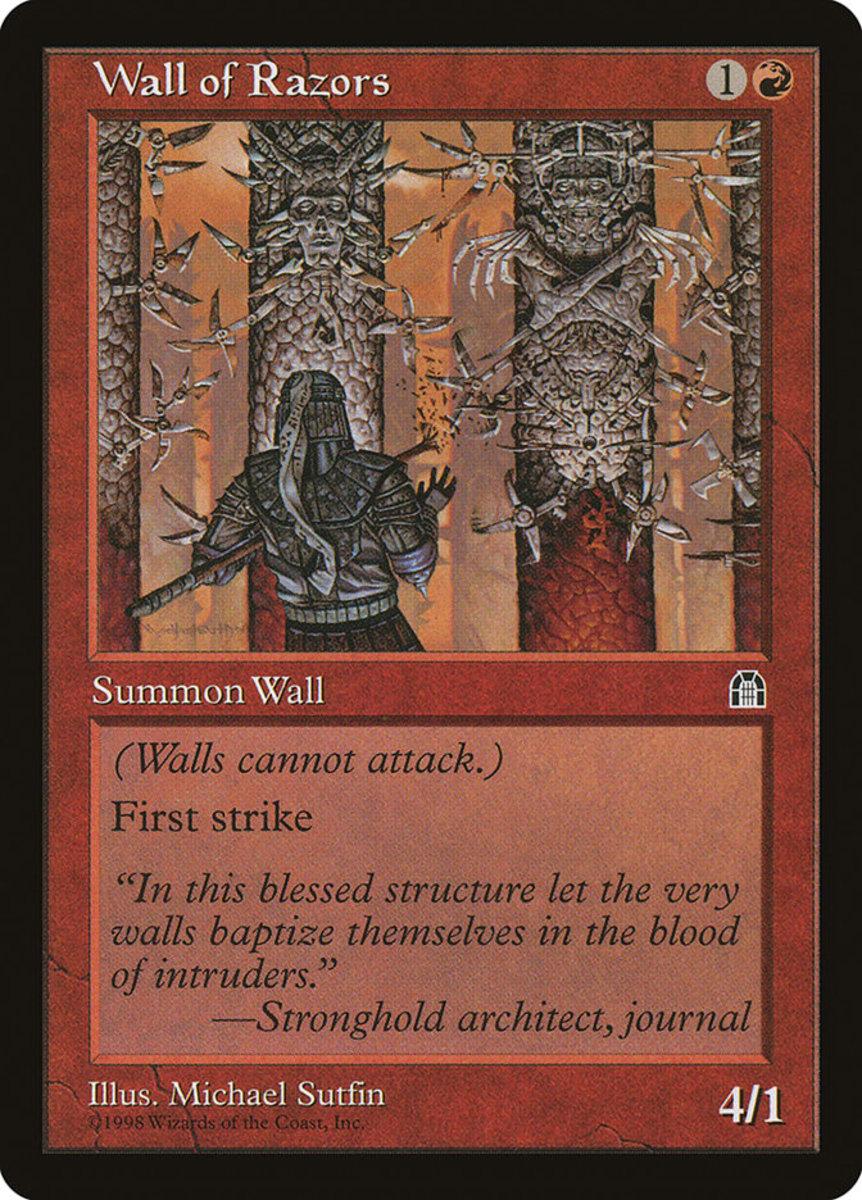Wall of Razors