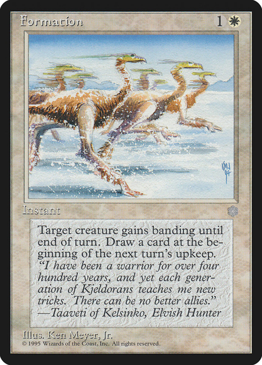 Top 10 Banding Cards in Magic: The Gathering