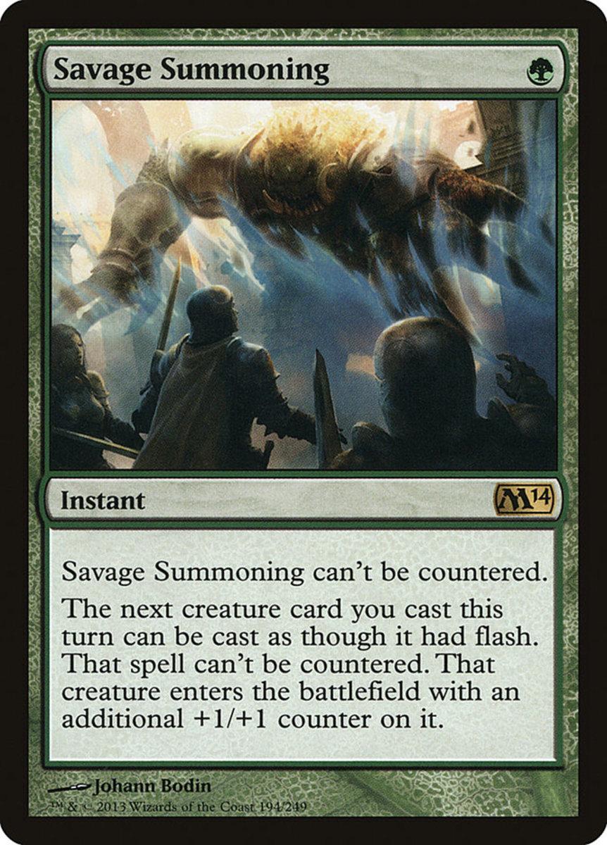 Savage Summoning