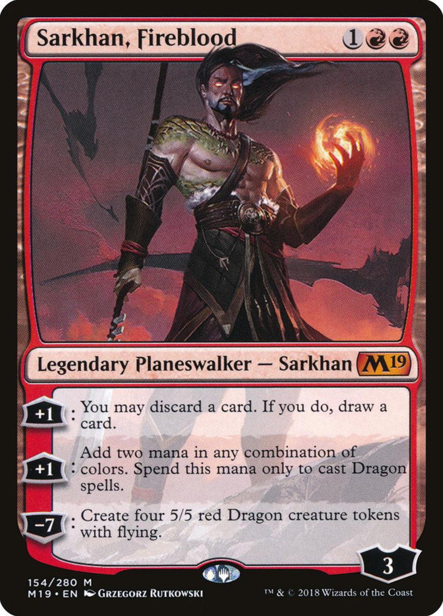 Sarkhan, Fireblood