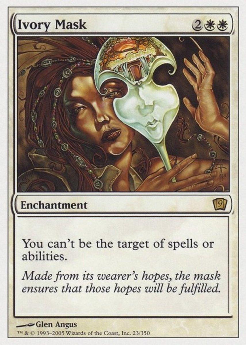 Ivory Mask