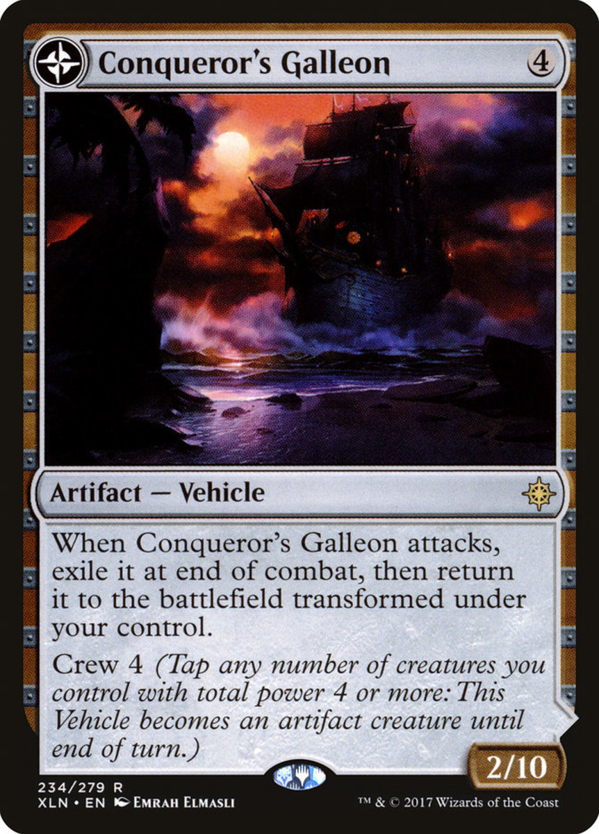 Top 10 Vehicles in Magic: The Gathering