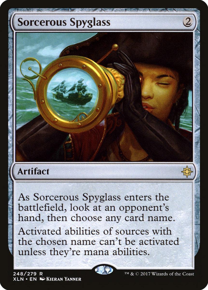 Sorcerous Spyglass (banned)
