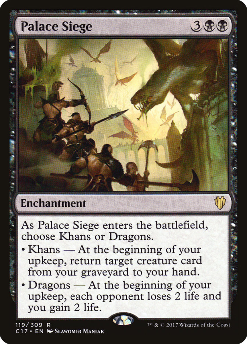 Top 5 Siege Enchantments in Magic: The Gathering