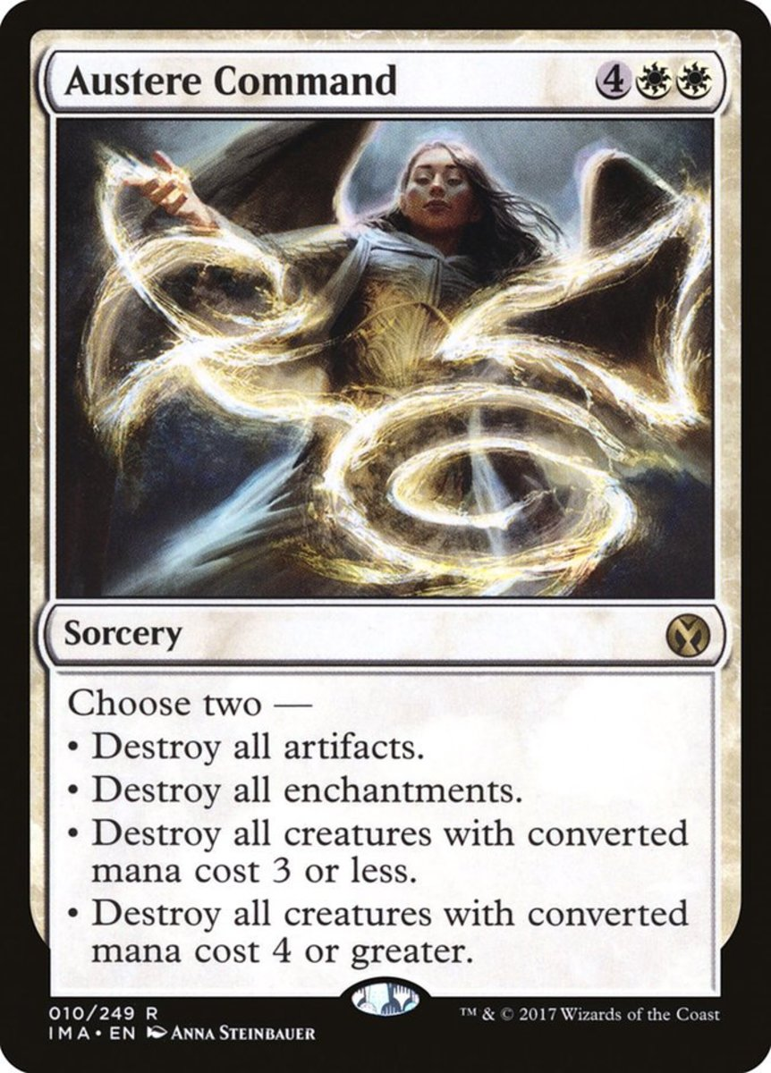 Top 10 Command Cards in Magic: The Gathering