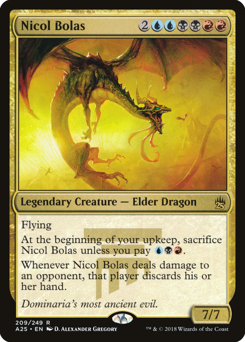Like most dragons, Nicol Bolas has flying