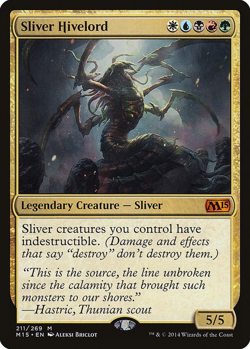 Top 10 Sliver Creatures in Magic: The Gathering