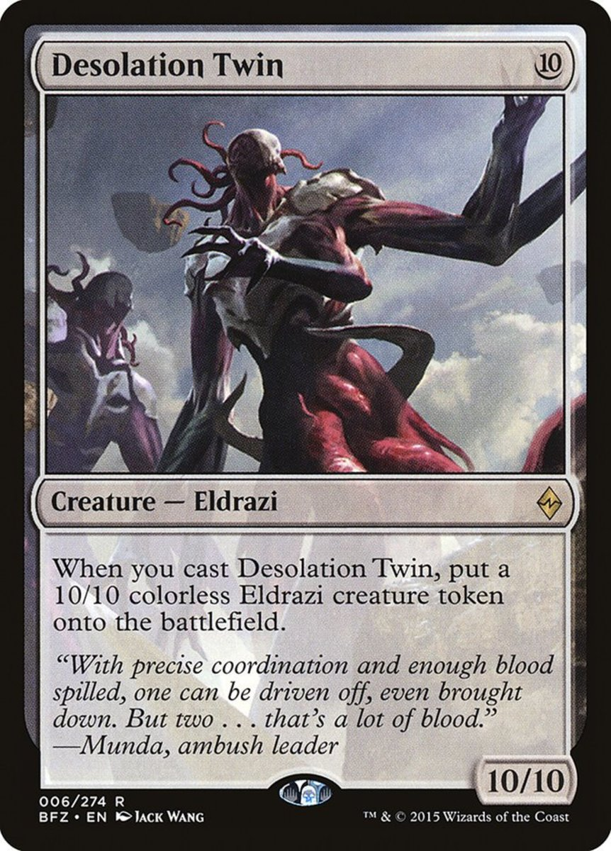 10 More of the Best Eldrazi in Magic: The Gathering