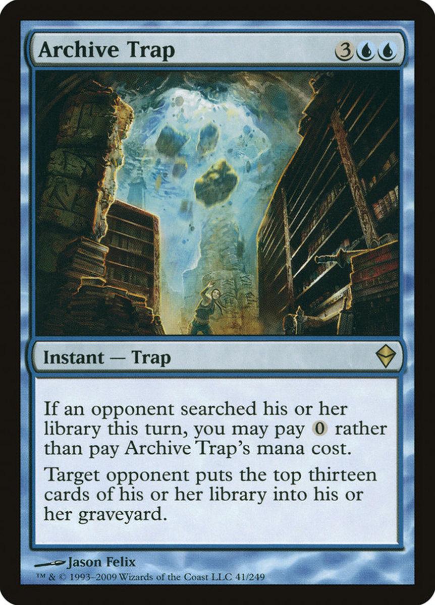 Archive Trap mtg