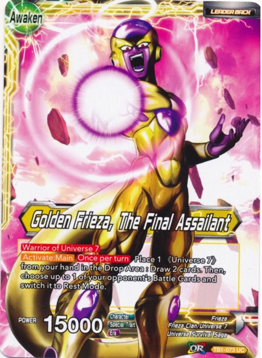 Golden Frieza, The Final Assailant