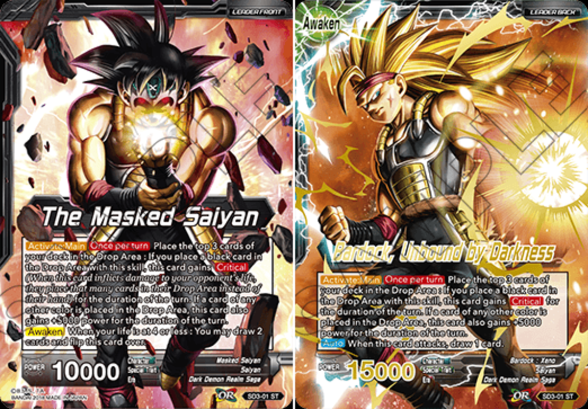 The Masked Saiyan // Bardock, Unbound by Darkness