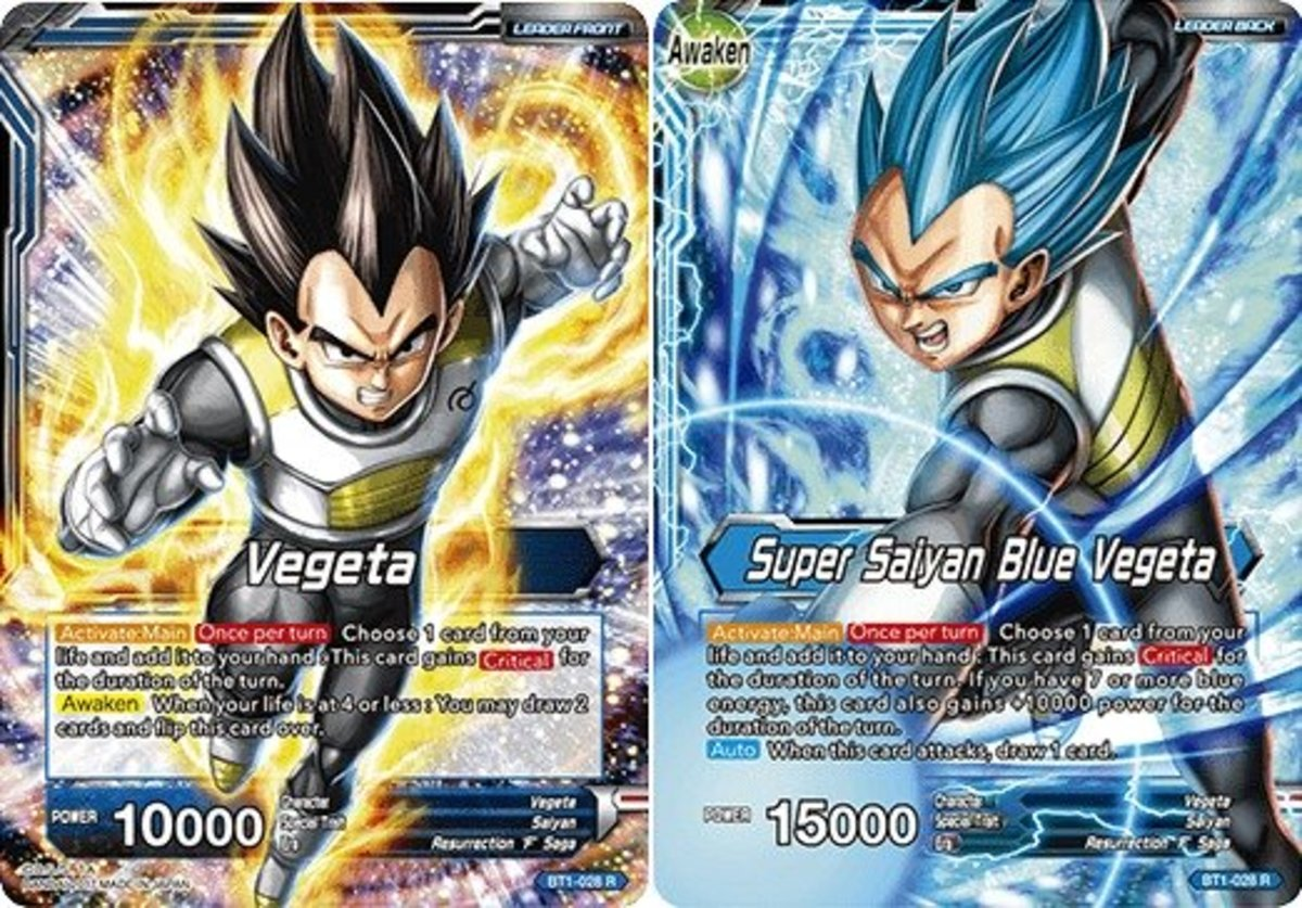 Top 10 Leaders in the Dragon Ball Super TCG