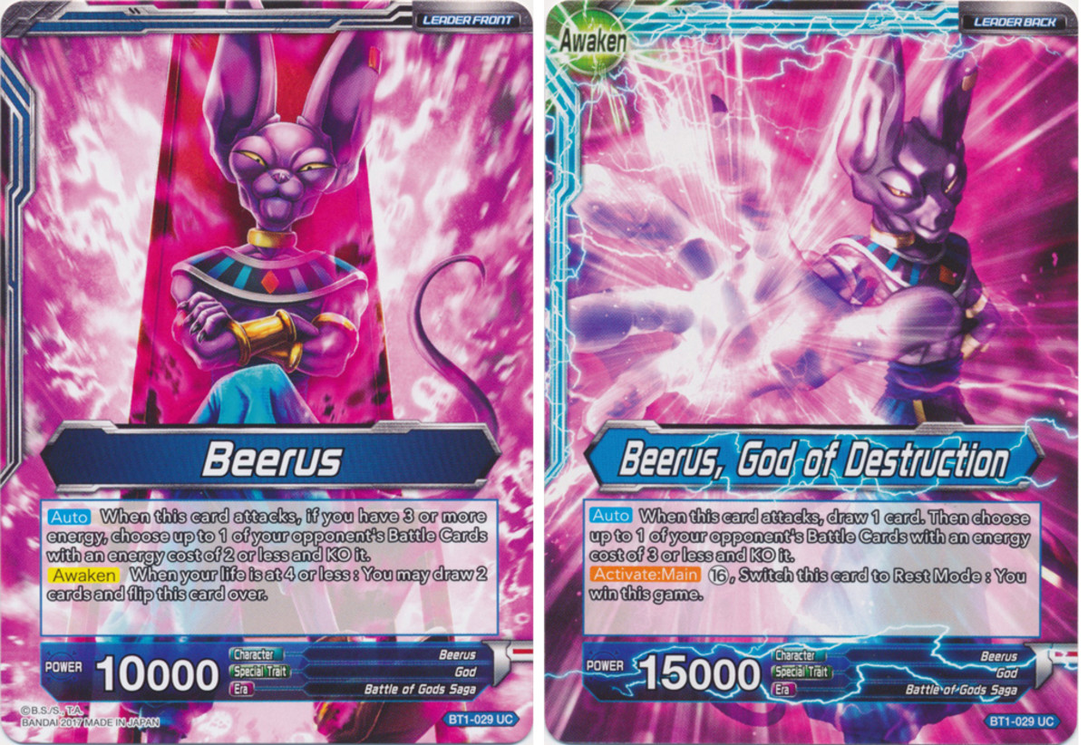 Beerus // Beerus, God of Destruction