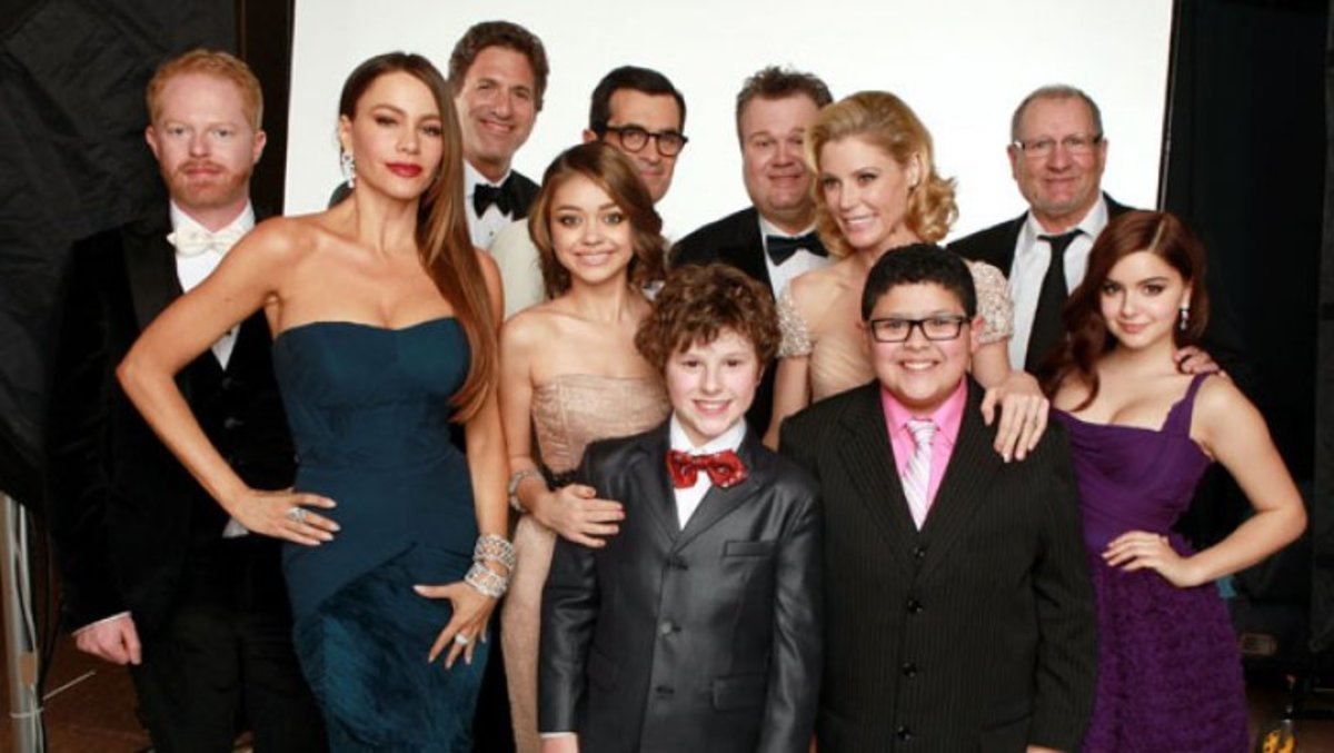 "In 2012, ""Modern Family"" won a Golden Globe for ""best TV comedy."""