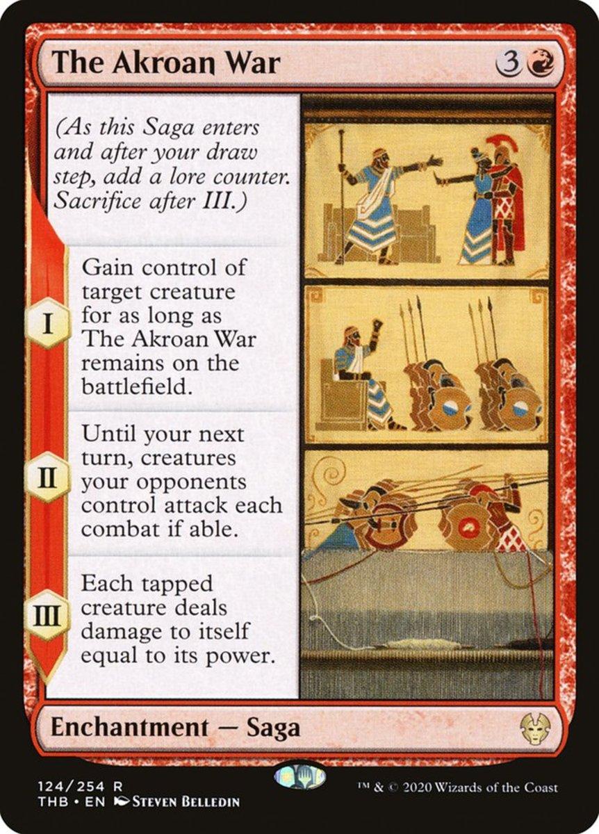 The Akroan War mtg