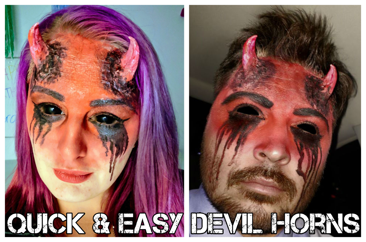 Cosplay Do-It-Yourself: Quick and Simple Prosthetic Devil Horns