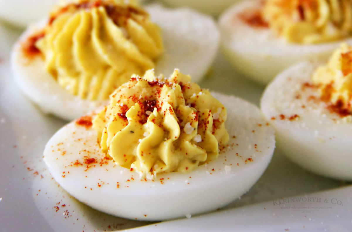 In 2013, deviled eggs were a real crowd-pleaser.