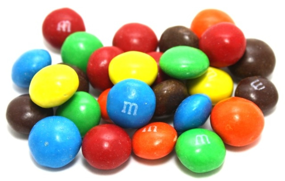 In 2013, M&M's were a popular Halloween candy.