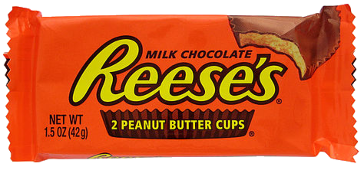 In 2017, Reese's Peanut Butter Cups were the most popular Halloween candy.