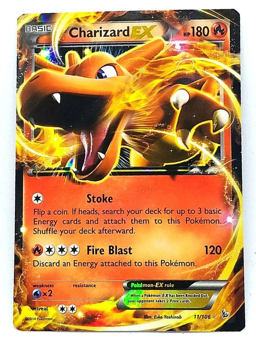 Charizard-EX (Flashfire 11)