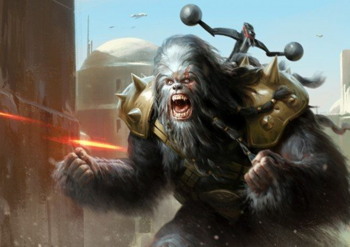Wookiee Black Krrsantan