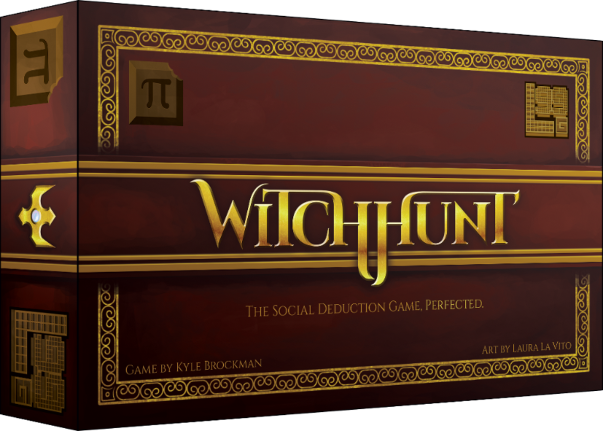 Witch Hunt board game